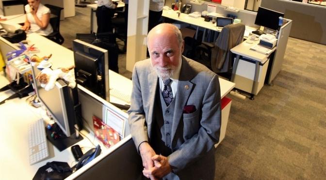 """Vinton Cerf: """"En 2020 el 80% de la humanidad estará conectada a Internet"""""""