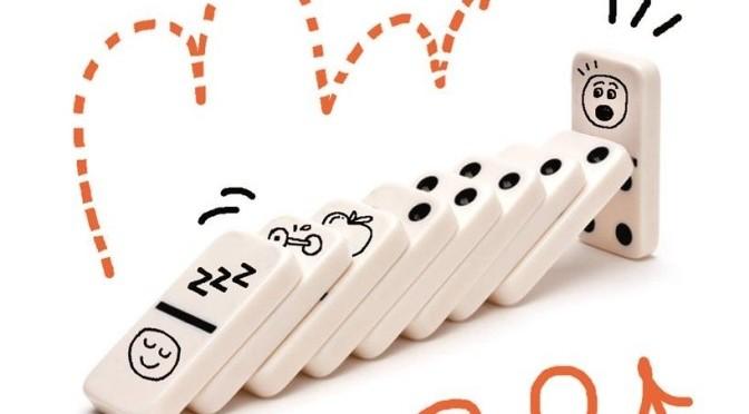 El efecto dominó: la adquisición de buenos hábitos puede generar una reacción en cadena