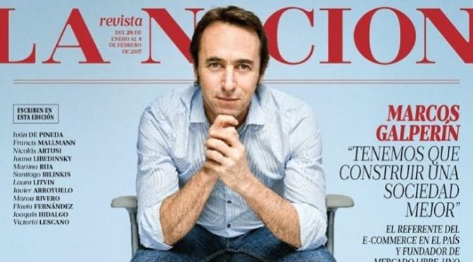 """Marcos Galperín: """"Tenemos que construir una sociedad mejor"""""""