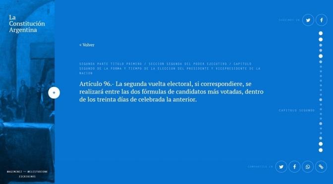 Lanzan el primer buscador digital avanzado sobre la Constitución Argentina