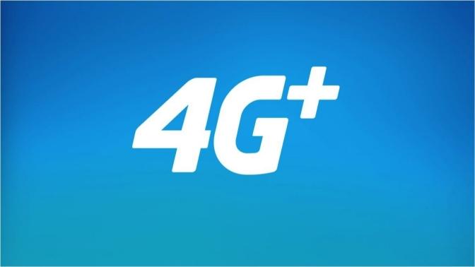 Movistar presentando 4G +, para aumentar la velocidad de datos