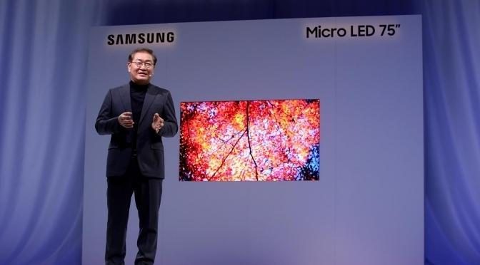 CES 2019: televisores modulares y pantallas enormes, la apuesta de Samsung este año